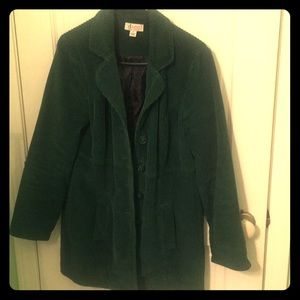 Ladies corduroy cost , size small